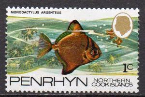 Penrhyn, Mi-Nr. 45 **, Fisch