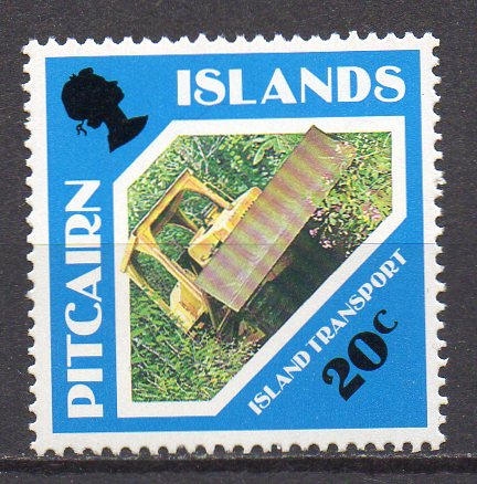 Pitcairn Inseln, Mi-Nr. 383 **, Planierraupe