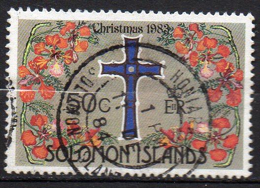 Salomon Inseln, Mi-Nr. 508 gest., Weihnachten 1983