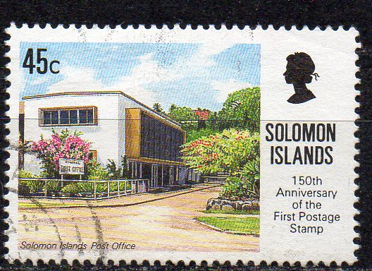 Salomon Inseln, Mi-Nr. 734 gest., 150 Jahre Briefmarken