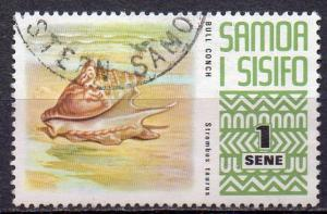 Samoa, Mi-Nr. 262 gest., Muschel