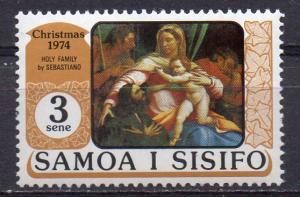 Samoa, Mi-Nr. 306 **, Weihnachten 1974