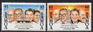 Samoa, Mi-Nr. 605 - 606 **, kompl.,