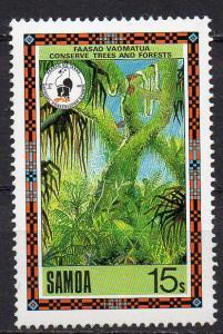 Samoa, Mi-Nr. 659 **, Urwald