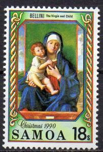 Samoa, Mi-Nr. 708 **, Weihnachten 1990