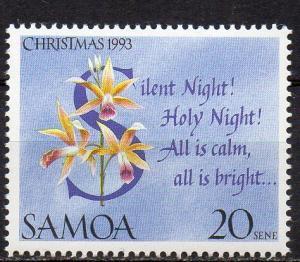 Samoa, Mi-Nr. 763 **, Weihnachten 1993
