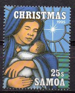 Samoa, Mi-Nr. 821 **, Weihnachten 1995