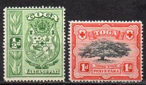 Tonga, Mi-Nr. 39 + 40 **,