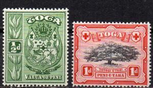 Tonga, Mi-Nr. 73 + 74 **,