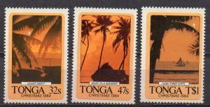 Tonga, Mi-Nr. 902 - 904 **, kompl., Weihnachten 1984