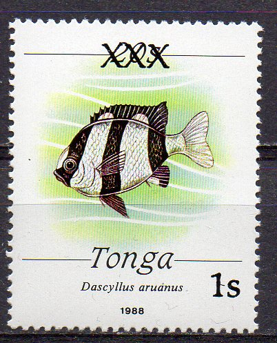 Tonga, Mi-Nr. 1202 **, Fisch