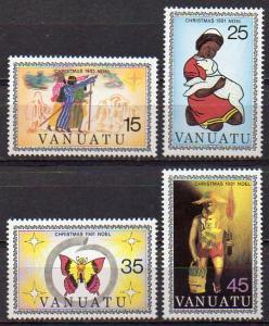 Vanuatu, Mi-Nr. 613 - 616 **, kompl., Weihnachten 1981