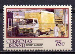 Weihnachtsinsel, Mi-Nr. 316 **, Lieferwagen