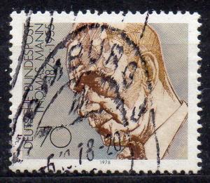 BRD, Mi-Nr. 961 gest., aus Block 16, Literatur-Nobelpreisträger