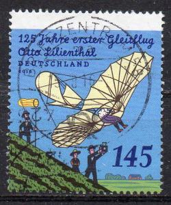 BRD, Mi-Nr. 3254 gest., 125 Jahre 1. Gleitflug von Otto Lilienthal