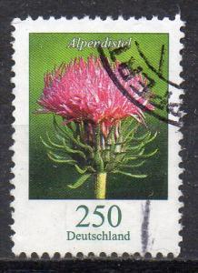 BRD, Mi-Nr. 3199 gest., DS Blumen: Alpendistel