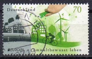 BRD, Mi-Nr. 3238 gest., Europa CEPT 2016, Umweltbewusst leben