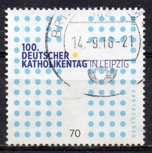 BRD, Mi-Nr. 3239 gest., Deutscher Katholikentag