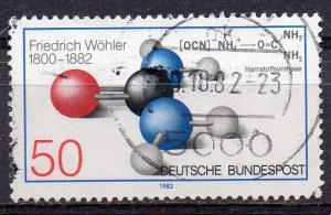 BRD, Mi-Nr. 1148 gest., Friedrich Wöhler