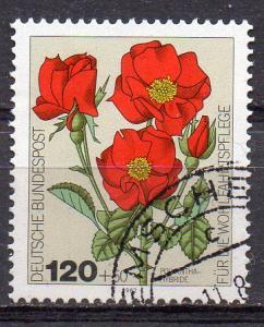 BRD, Mi-Nr. 1153 gest., Wohlfahrt 1982 - Gartenrosen