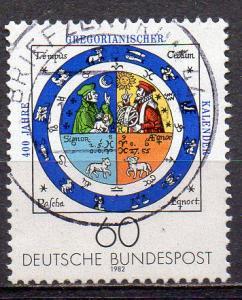 BRD, Mi-Nr. 1155 gest., 400  Jahre Gregorianischer Kalender