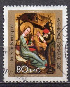 BRD, Mi-Nr. 1161 gest., Weihnachten 1982