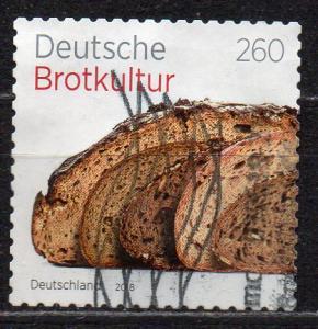 BRD, Mi-Nr. 3390 gest., gestanzt, Deutsche Brotkultur