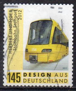 BRD, Mi-Nr. 3363 gest., gestanzt, Design aus Deutschland - Straßenbahn