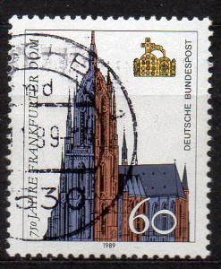 BRD, Mi-Nr. 1434 gest., 750 Jahre Dom Frankfurt a. Main