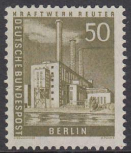 BERLIN 1956 Michel-Nummer 150 postfrisch EINZELMARKE - Berliner Stadtbilder: Kraftwerk Reuter