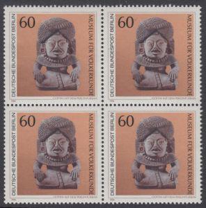 BERLIN 1984 Michel-Nummer 710 postfrisch BLOCK - Kunstschätze in Berliner Museen: Göttin mit dem Perlenturban (Museum für Völkerkunde)
