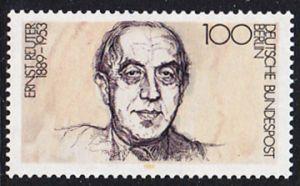 BERLIN 1989 Michel-Nummer 846 postfrisch EINZELMARKE - Ernst Reuter, Politiker, Oberbürgermeister von Berlin