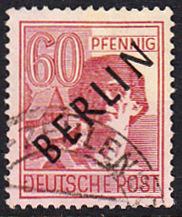 BERLIN 1948 Michel-Nummer 014 gestempelt EINZELMARKE (b)