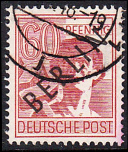 BERLIN 1948 Michel-Nummer 014 gestempelt EINZELMARKE (c)