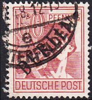 BERLIN 1948 Michel-Nummer 014 gestempelt EINZELMARKE (e)