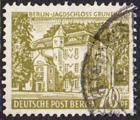 BERLIN 1954 Michel-Nummer 123 gestempelt EINZELMARKE (b)