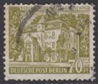 BERLIN 1954 Michel-Nummer 123 gestempelt EINZELMARKE (f)