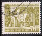 BERLIN 1954 Michel-Nummer 123 gestempelt EINZELMARKE (a)