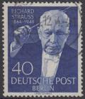 BERLIN 1954 Michel-Nummer 124 gestempelt EINZELMARKE (a)