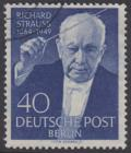 BERLIN 1954 Michel-Nummer 124 gestempelt EINZELMARKE (b)