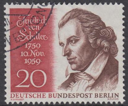 BERLIN 1959 Michel-Nummer 190 gestempelt EINZELMARKE (k)