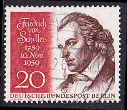 BERLIN 1959 Michel-Nummer 190 gestempelt EINZELMARKE (e)