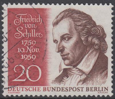 BERLIN 1959 Michel-Nummer 190 gestempelt EINZELMARKE (c)
