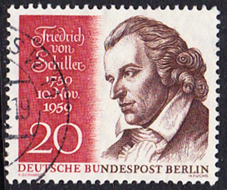 BERLIN 1959 Michel-Nummer 190 gestempelt EINZELMARKE (b)