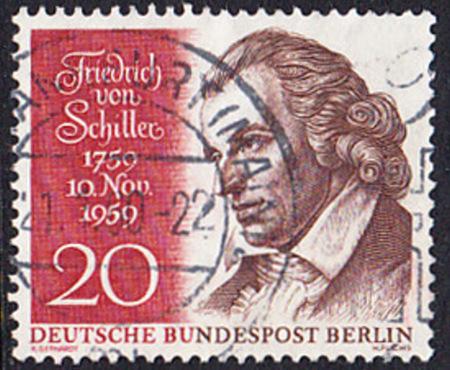 BERLIN 1959 Michel-Nummer 190 gestempelt EINZELMARKE (a)