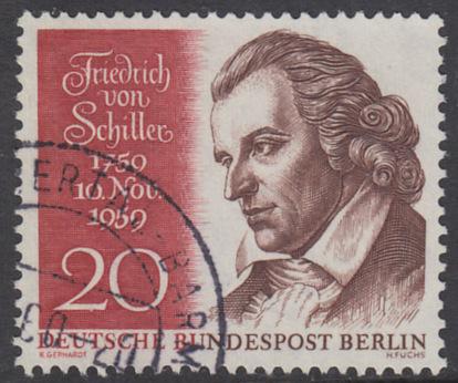 BERLIN 1959 Michel-Nummer 190 gestempelt EINZELMARKE (l)