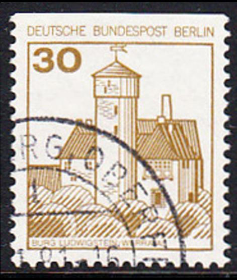 Deutschland VertrauenswüRdig Berlin Nr.748 Kurt Tucholsky 1985 Briefmarken Gestempelt