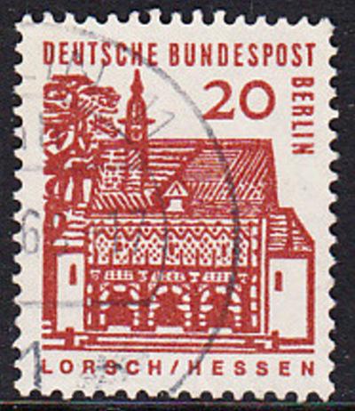 BERLIN 1964 Michel-Nummer 244 gestempelt EINZELMARKE (a)