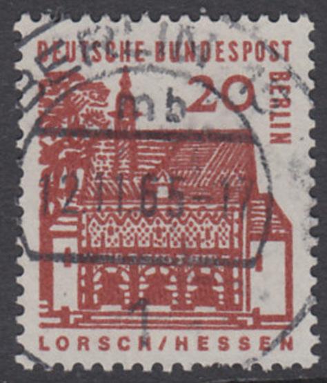 BERLIN 1964 Michel-Nummer 244 gestempelt EINZELMARKE (w)