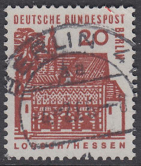 BERLIN 1964 Michel-Nummer 244 gestempelt EINZELMARKE (p)